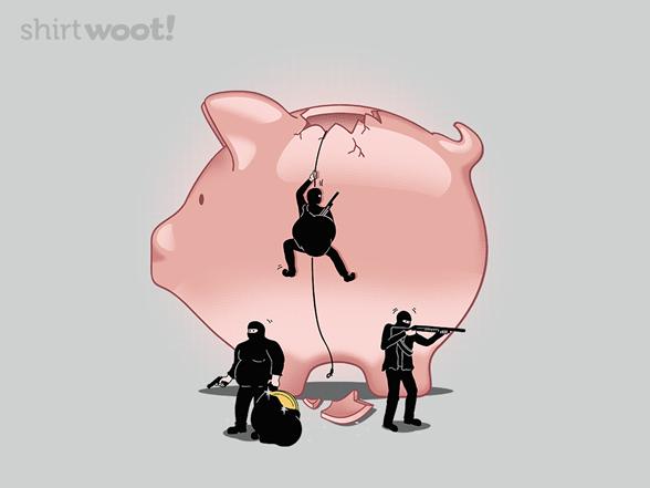 Bank Heist T Shirt