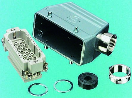 Epic Contact Heavy Duty Power Connector, H-D 64 Way Male 10A Preassembled Connector Kit