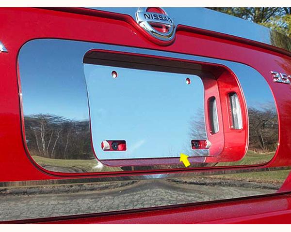 Quality Automotive Accessories 1-Piece License Plate Bezel Nissan Maxima 2005