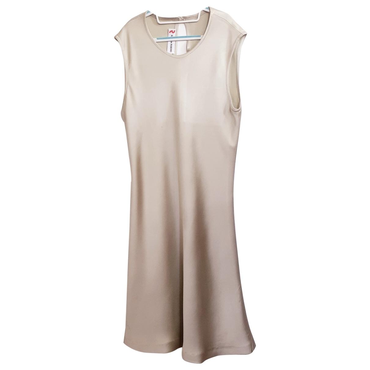 Mini vestido de Seda Regina Rubens