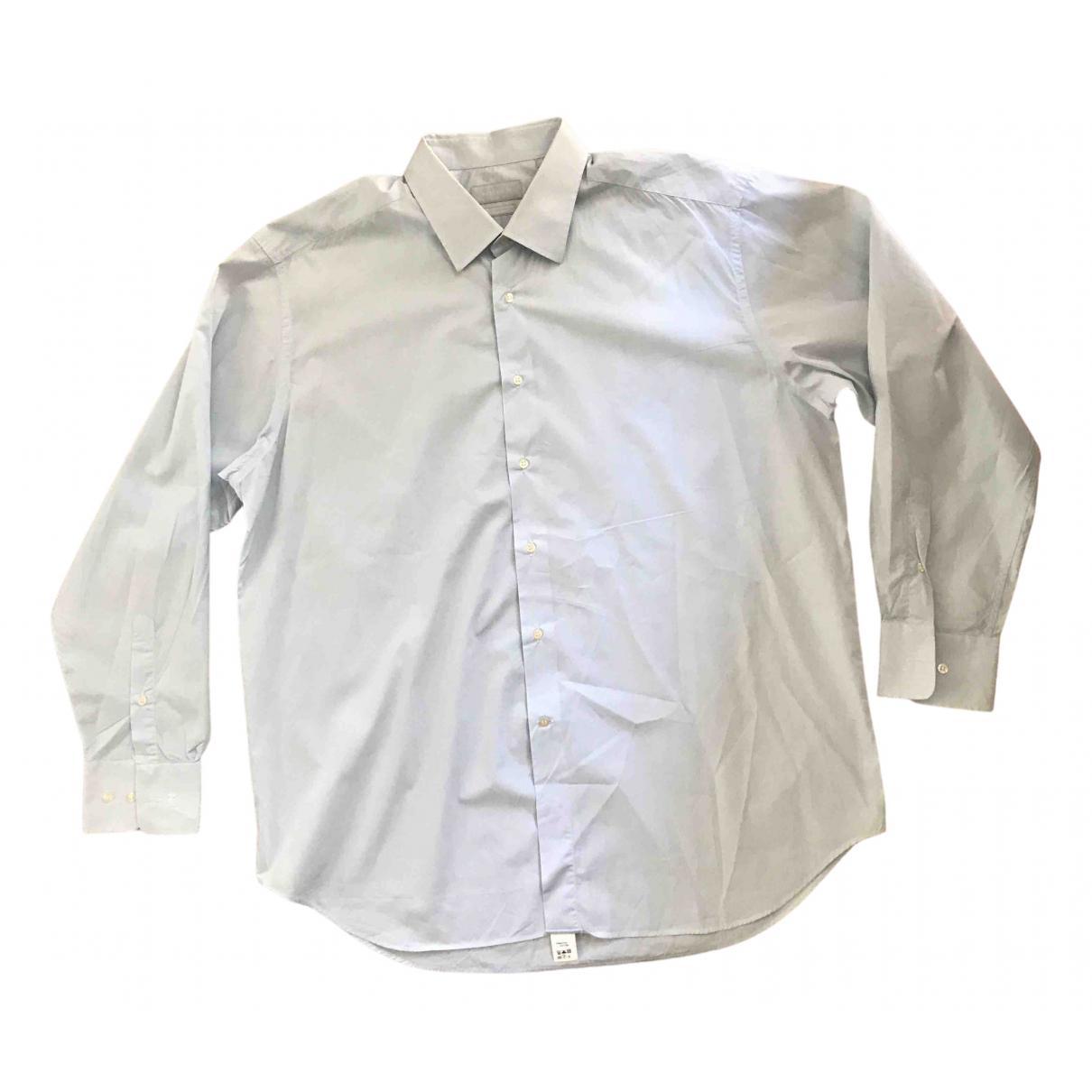 Nina Ricci - Chemises   pour homme en coton - bleu