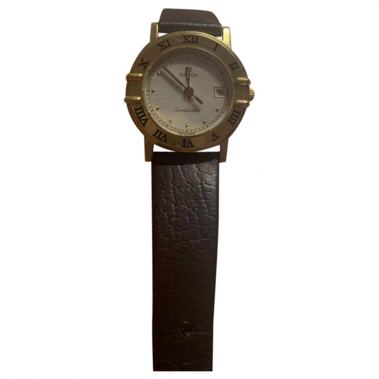 Omega Constellation Uhr in  Gelb Gelbgold
