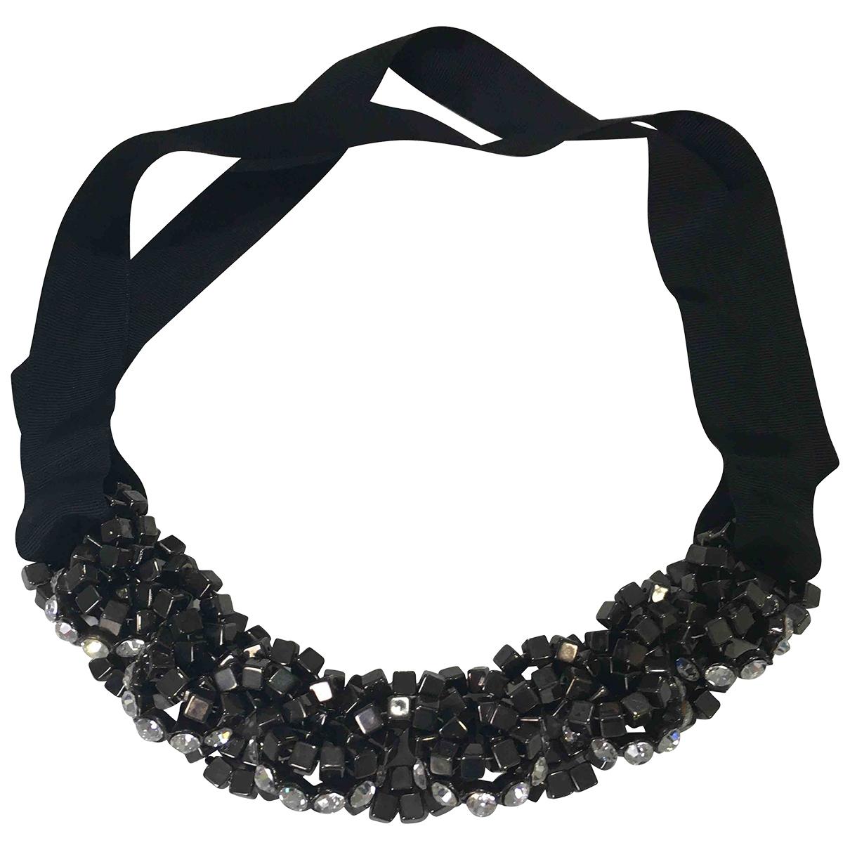Collar Chaines de Cristal Non Signe / Unsigned