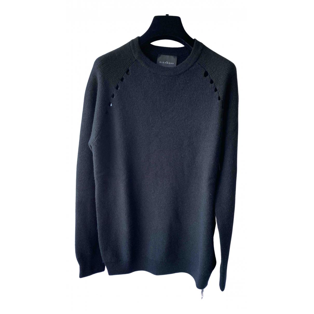 John Richmond \N Black Wool Knitwear for Women M International
