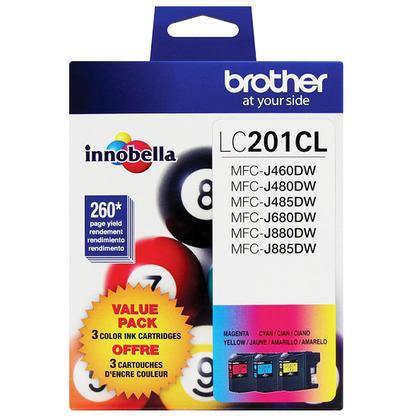 Brother LC2013PKS Original Color Ink Cartridge Combo C/M/Y