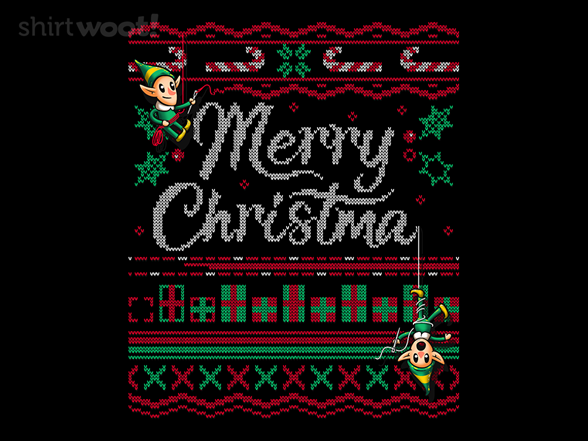 Ugly Holiday Sweater: 2018 T Shirt