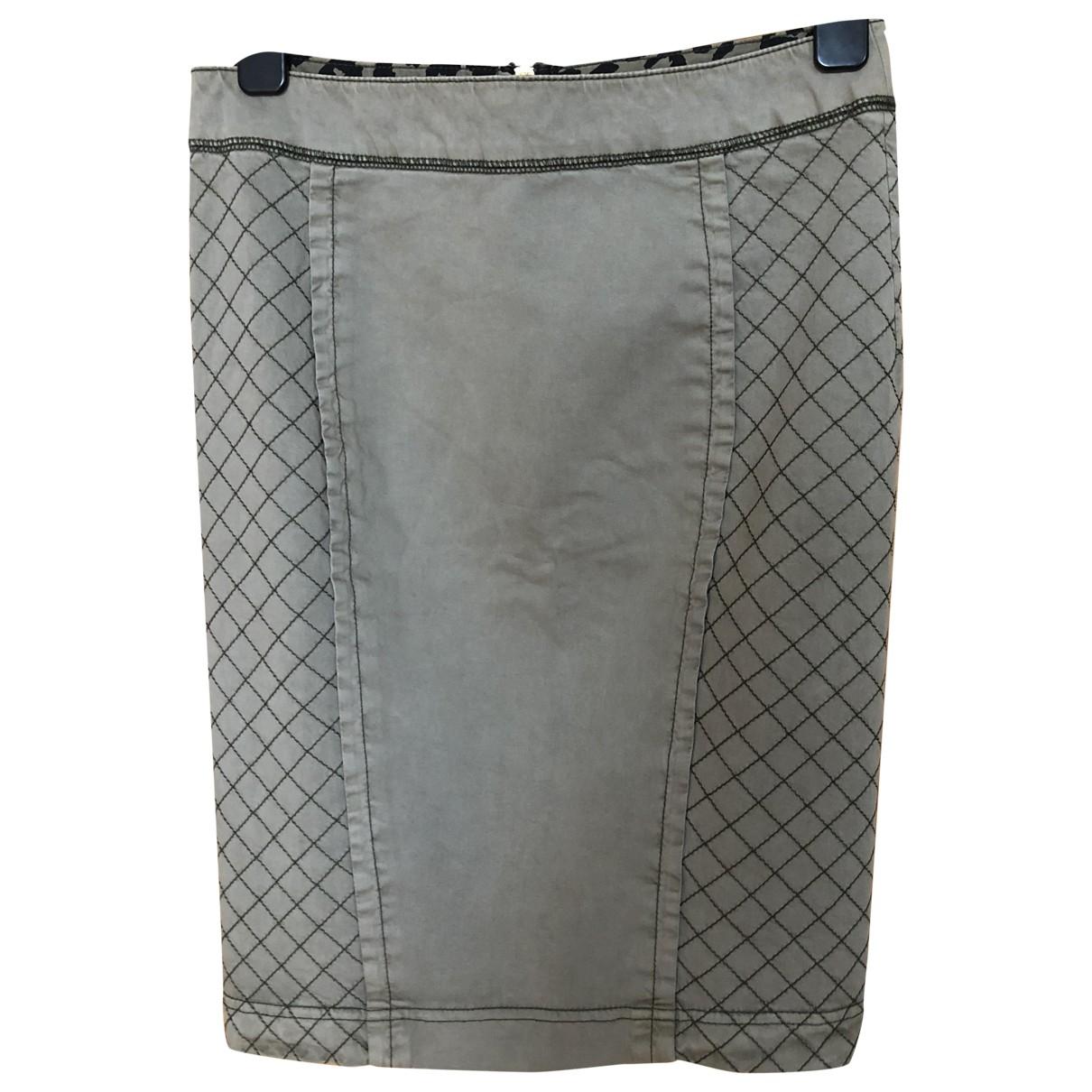 Boss Orange \N Khaki Cotton skirt for Women 34 FR