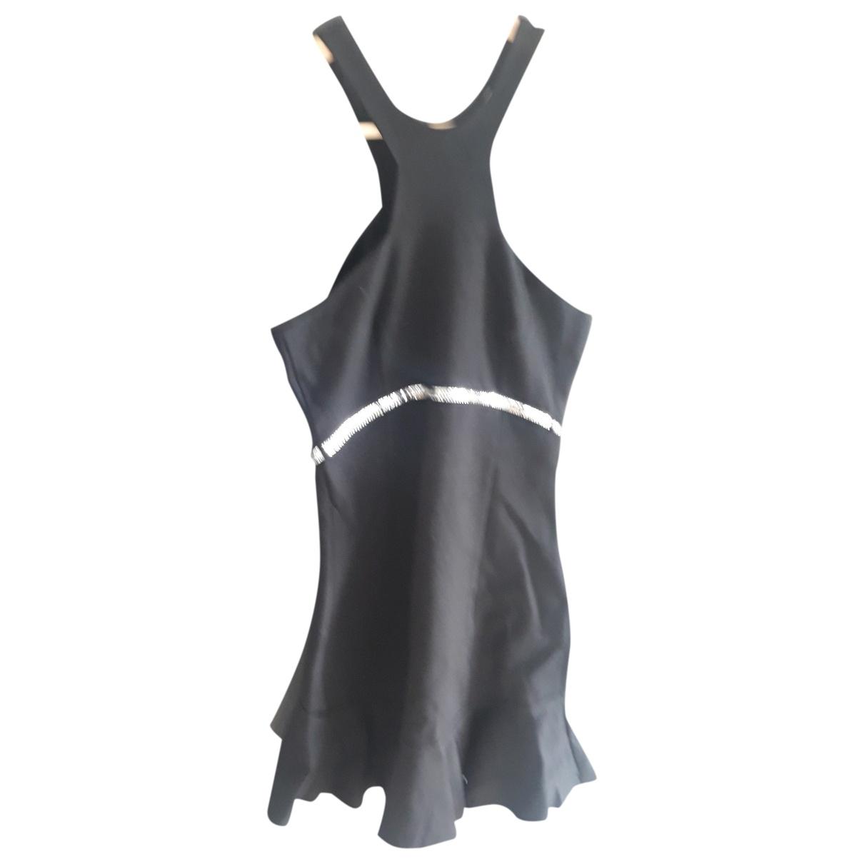 Maje \N Black Cotton - elasthane dress for Women 1 0-5
