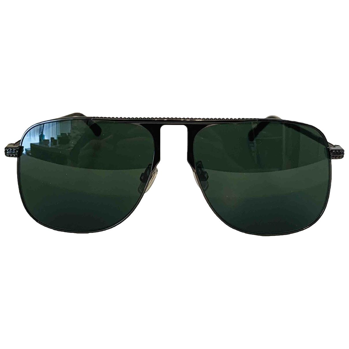 Jimmy Choo \N Black Metal Sunglasses for Women \N