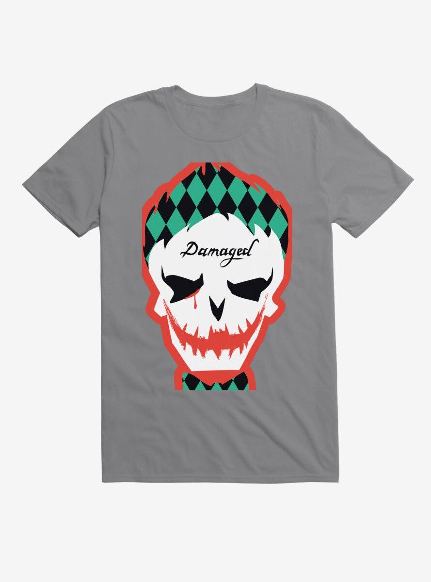 DC Comics Suicide Squad Joker Mask T-Shirt