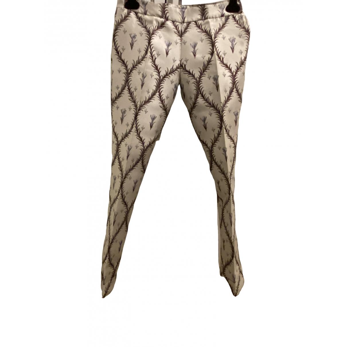 Pantalon largo de Seda Giambattista Valli