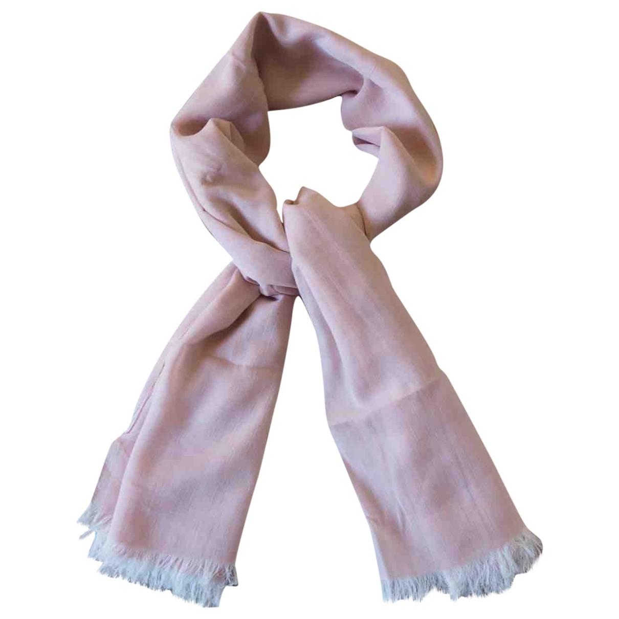 Boss - Foulard   pour femme en coton - rose