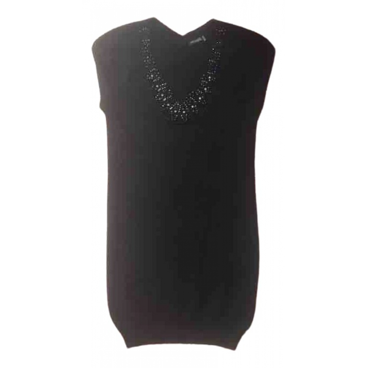 Magaschoni Collection \N Black Cashmere dress for Women 8 UK