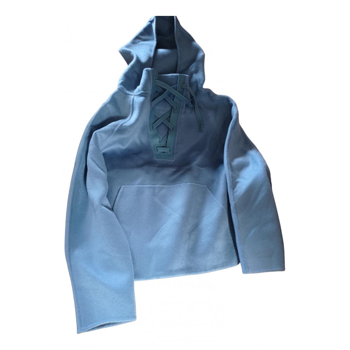 Loro Piana - Manteau   pour femme en cachemire - bleu