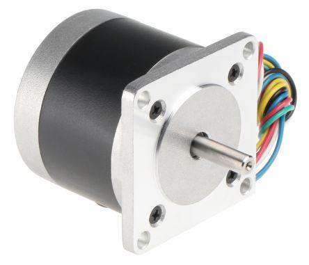 RS PRO Unipolar Hybrid Stepper Motor 1.8°, 6 V, 850 mA, 6 Wires