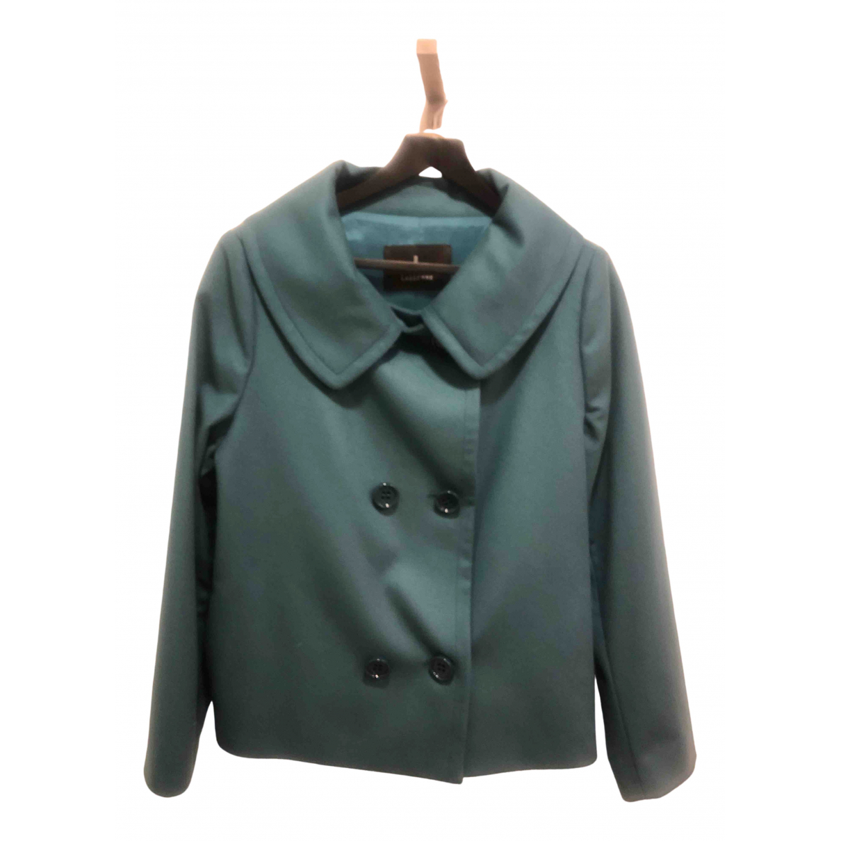 Non Signé / Unsigned \N Turquoise Wool jacket for Women 48 FR