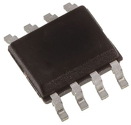 Texas Instruments VCA810AID , Controlled Voltage Amplifier 0.25mV Offset, 85dB CMRR, 8-Pin SOIC