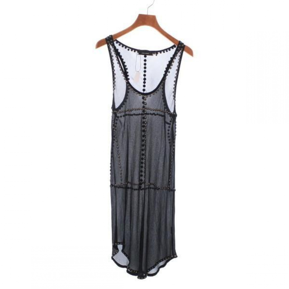 Isabel Marant \N Kleid in  Schwarz Seide