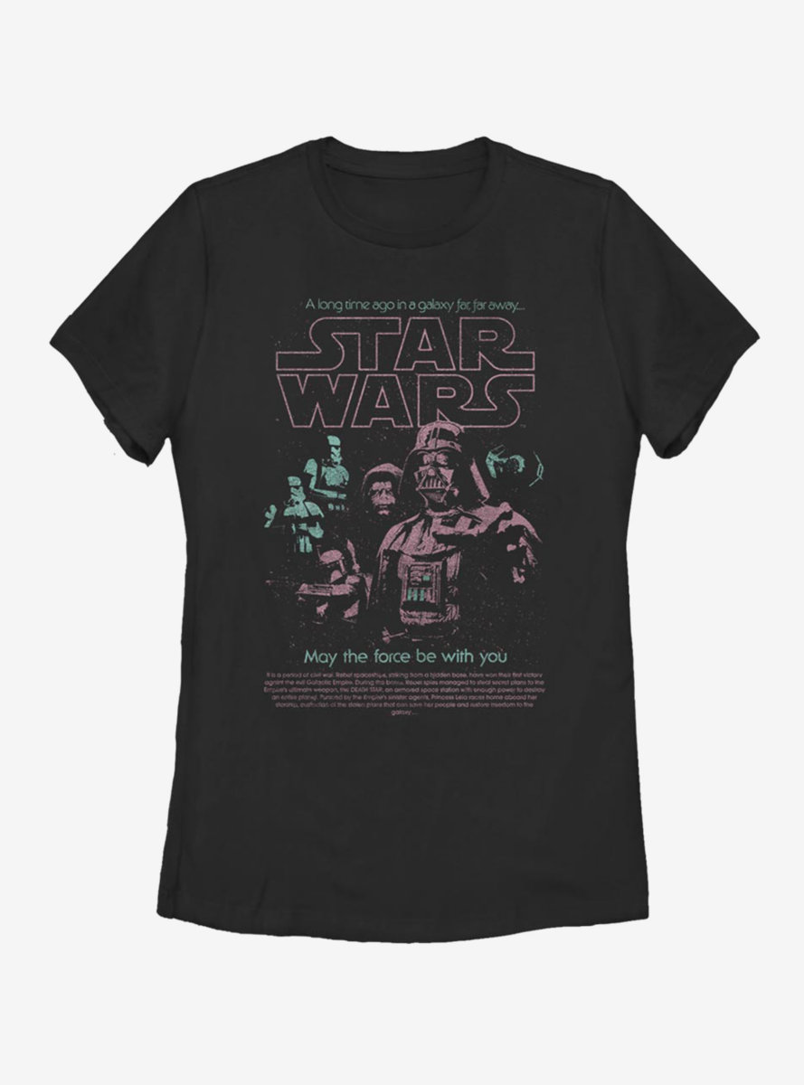 Star Wars Space Phantoms Womens T-Shirt