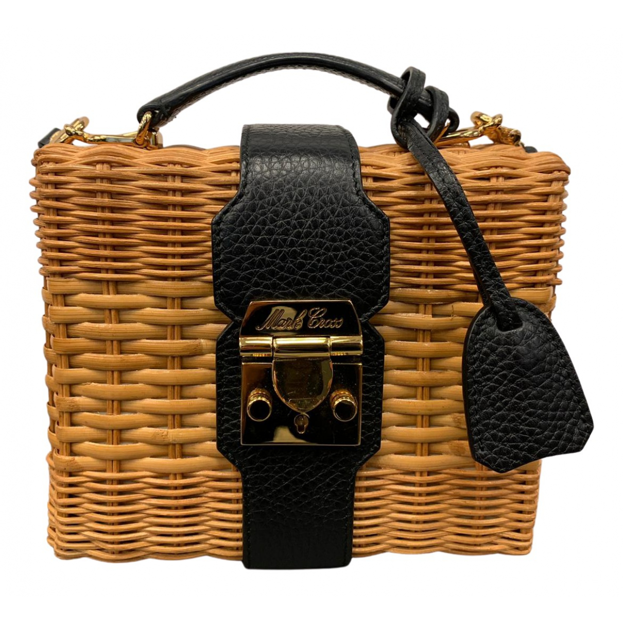 Mark Cross \N Black Wicker handbag for Women \N