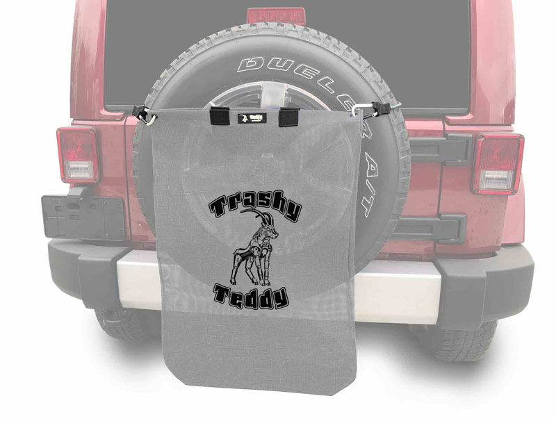 Steinjager J0047816 Trashy Teddy Wrangler JK 2007-2018 Gray