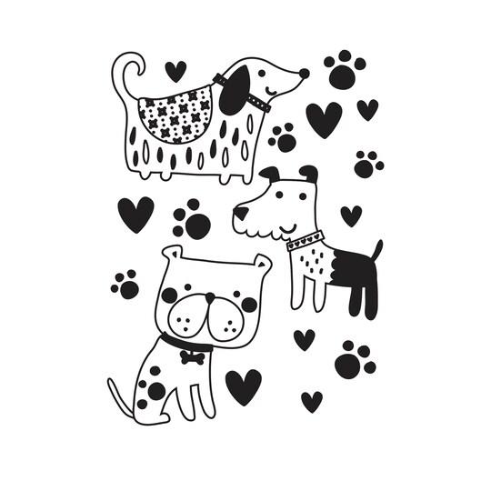Darice® Dogs Embossing Folder | Michaels®