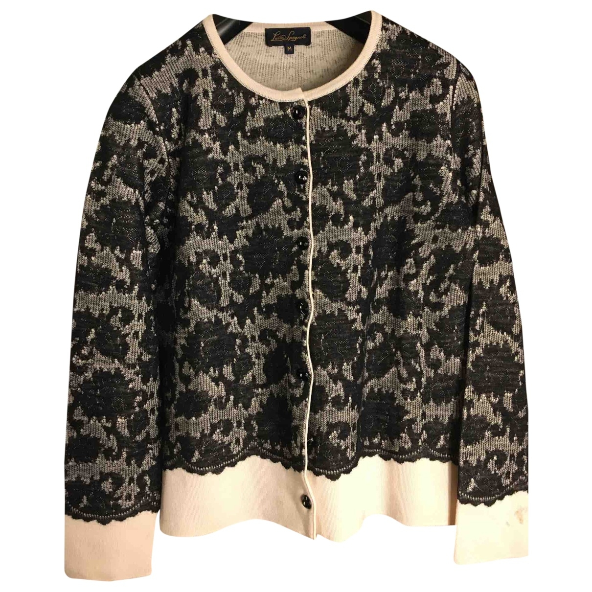 Non Signé / Unsigned \N Black Wool Knitwear for Women M International