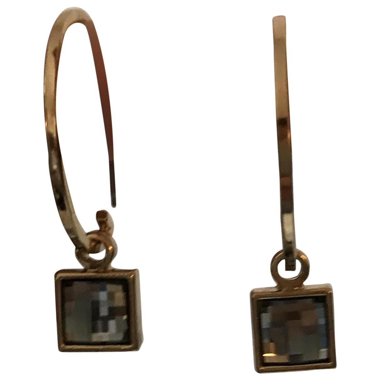 Dyrberg/kern \N Gold Gold plated Earrings for Women \N