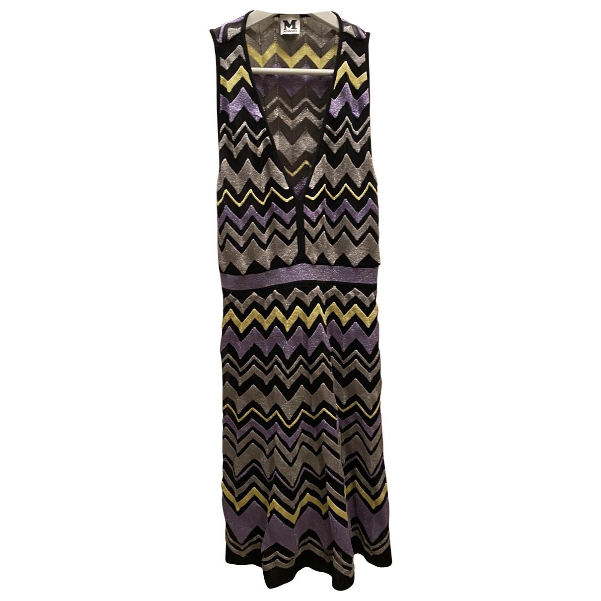 M Missoni \N Kleid in  Metallic Polyester