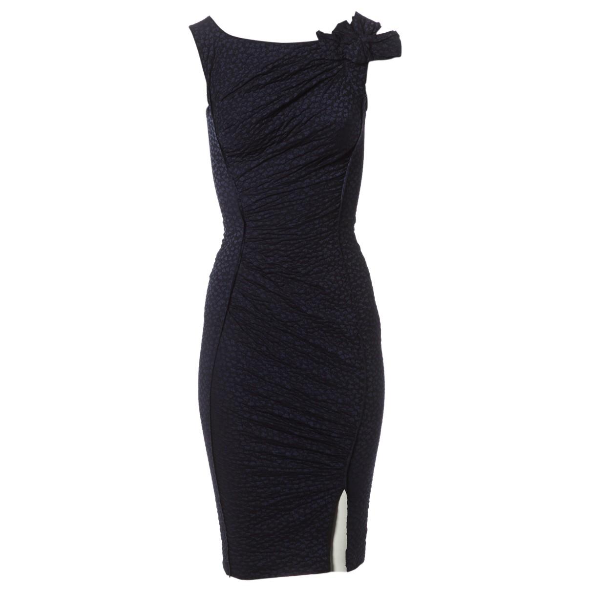 Nina Ricci \N Kleid in  Schwarz Polyester