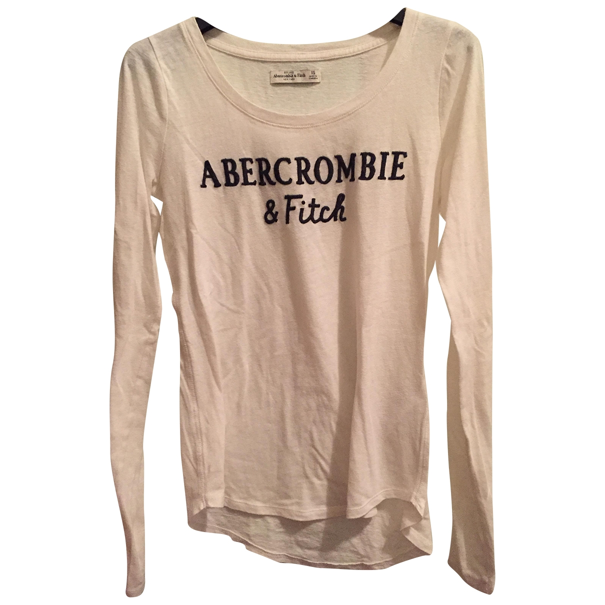 Abercrombie & Fitch \N Top in  Weiss Baumwolle