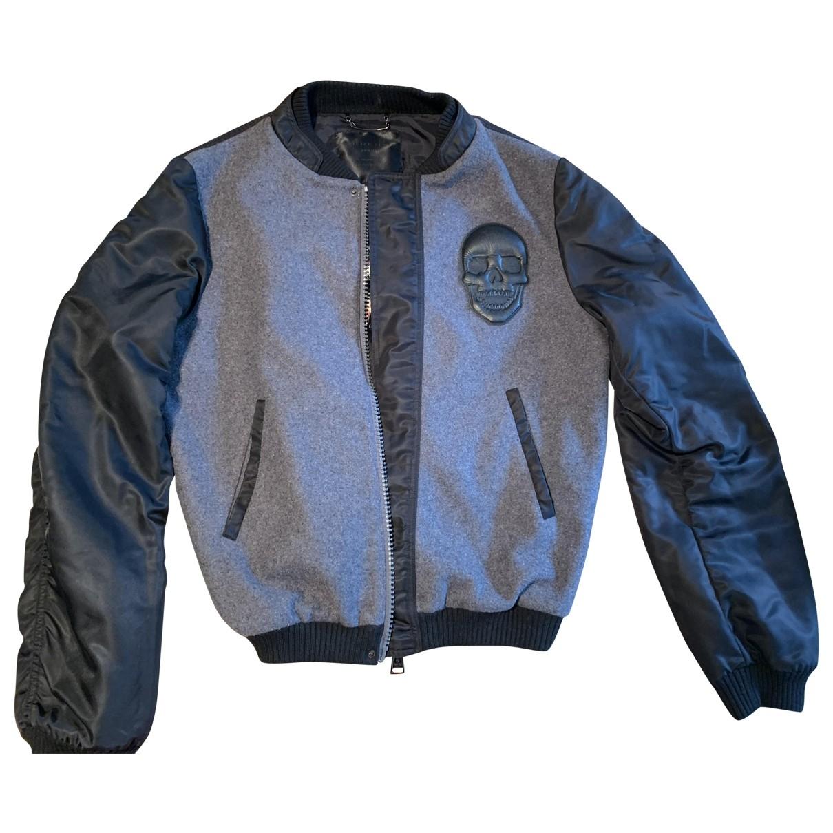 Philipp Plein \N Grey Wool jacket  for Men L International