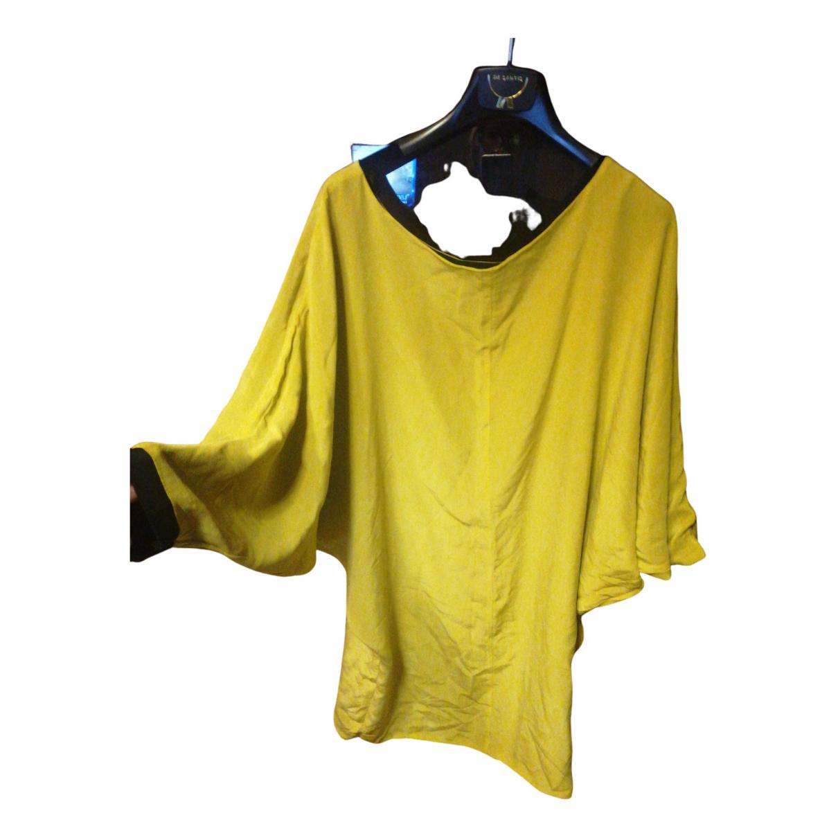 Ella Luna N Yellow Silk dress for Women 44 IT
