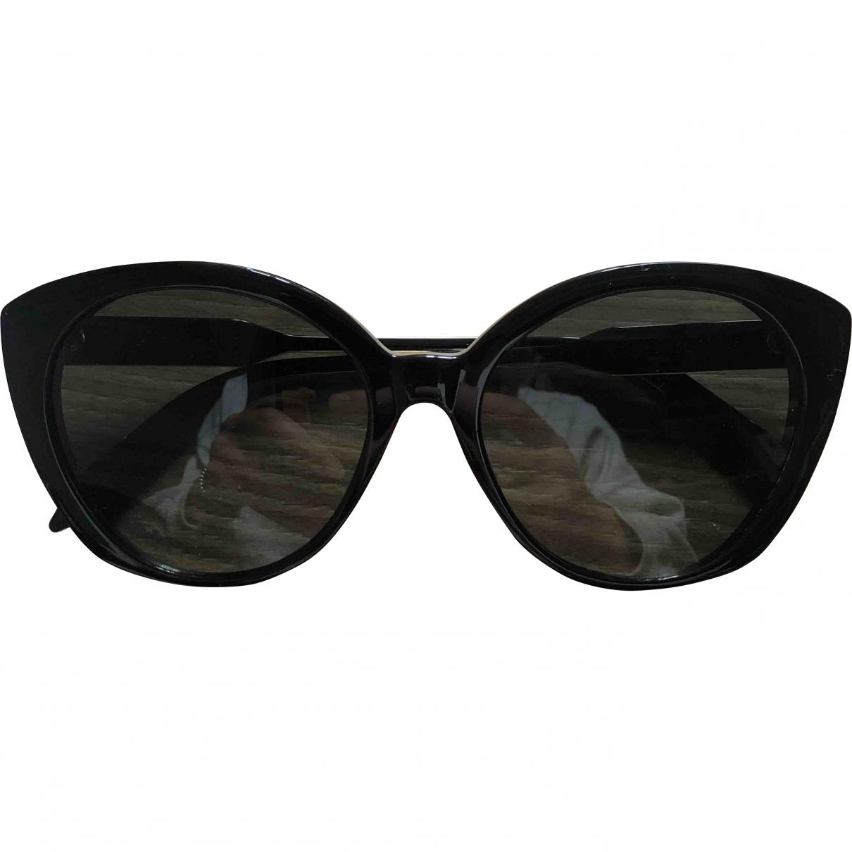 Victoria Beckham \N Sonnenbrillen in  Schwarz Kunststoff