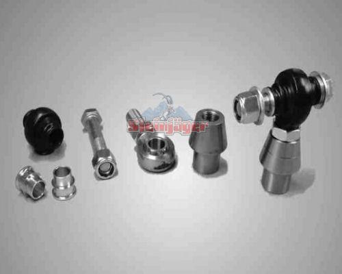 Steinjager J0009754 Rod Ends Set 0.625-18 for 1.250 OD x .120 Ball ID 1HSS-20120-10-10-TT-ZZ 0.625-18 x 0.625