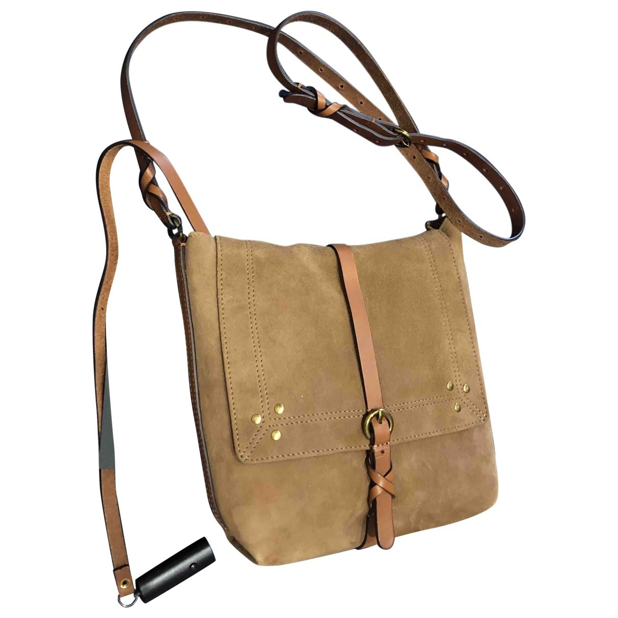 Jerome Dreyfuss \N Beige Suede handbag for Women \N
