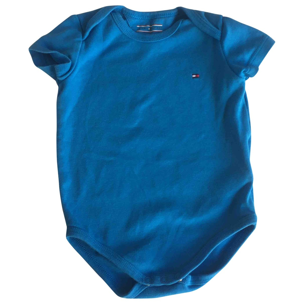 Tommy Hilfiger \N Blue Cotton  top for Kids 6 months - up to 67cm FR