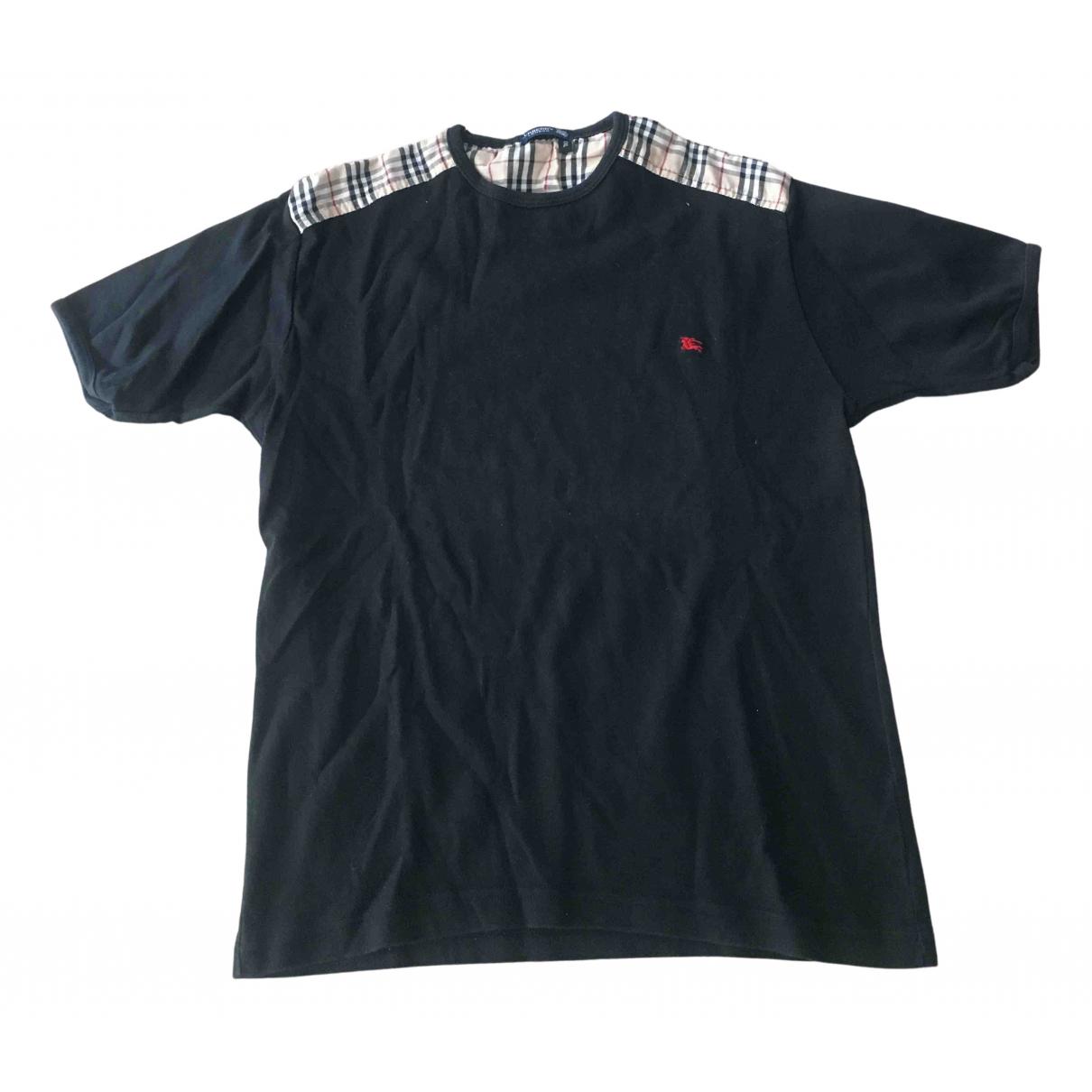 Burberry N Black Cotton T-shirts for Men XXL International