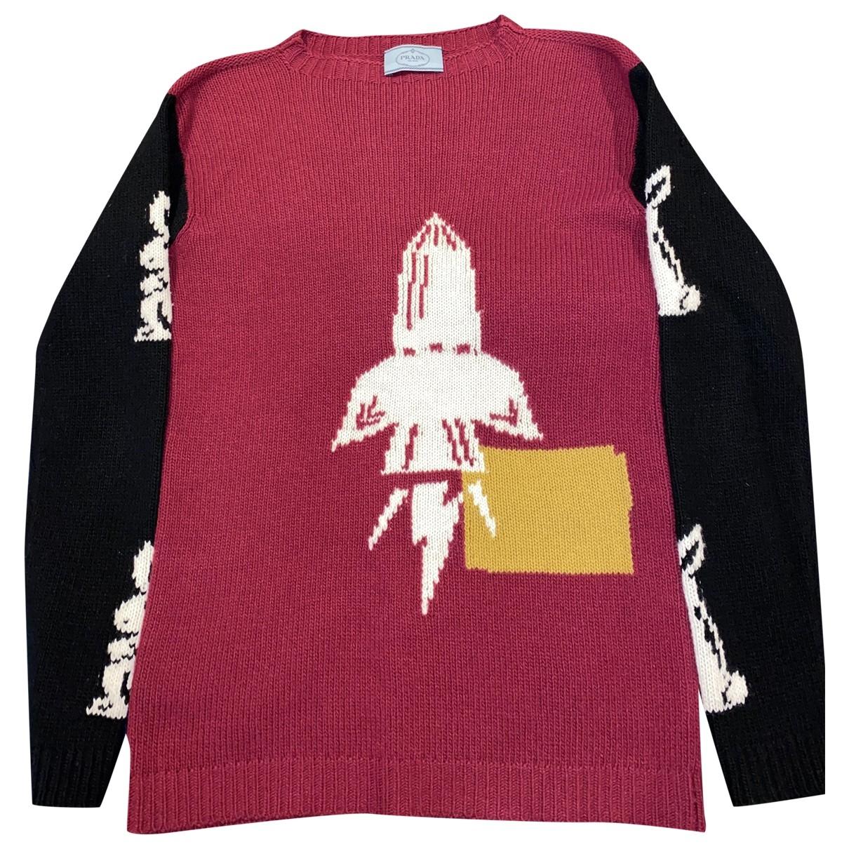 Prada \N Multicolour Wool Knitwear for Women 40 IT
