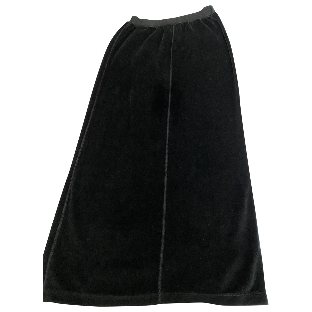 Sonia Rykiel - Jupe   pour femme en coton - elasthane - noir