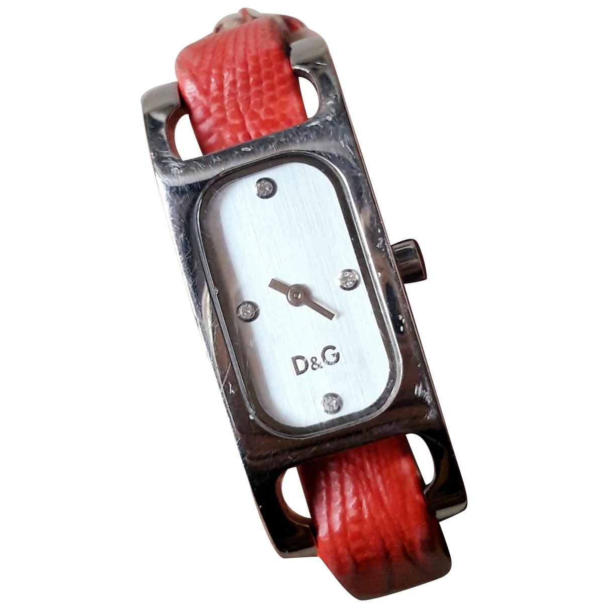 Dolce & Gabbana \N Uhr in  Rot Stahl