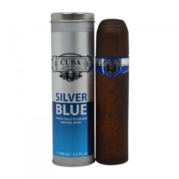 Cuba Silver Blue - Fragluxe Eau de toilette en espray 100 ML