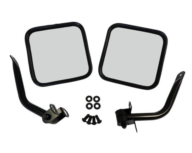 Steinjager J0053179 Side Mirrors Jeep CJ-8 1981-1986