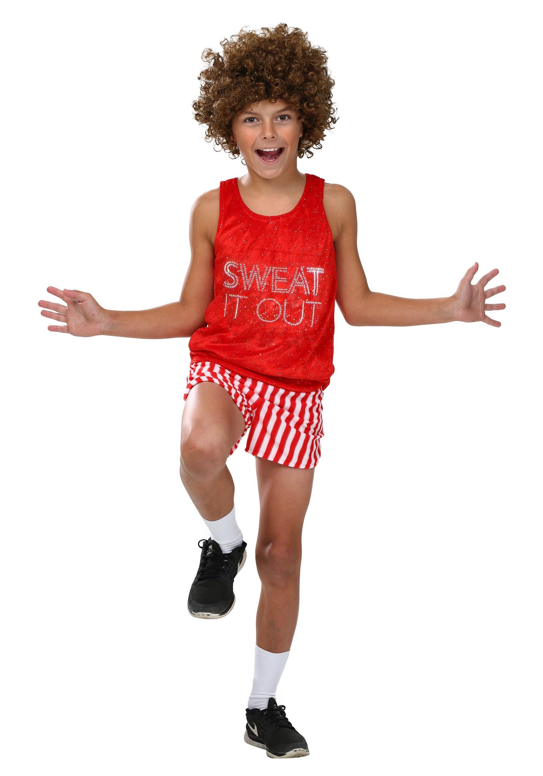 Kids Richard Simmons Costume