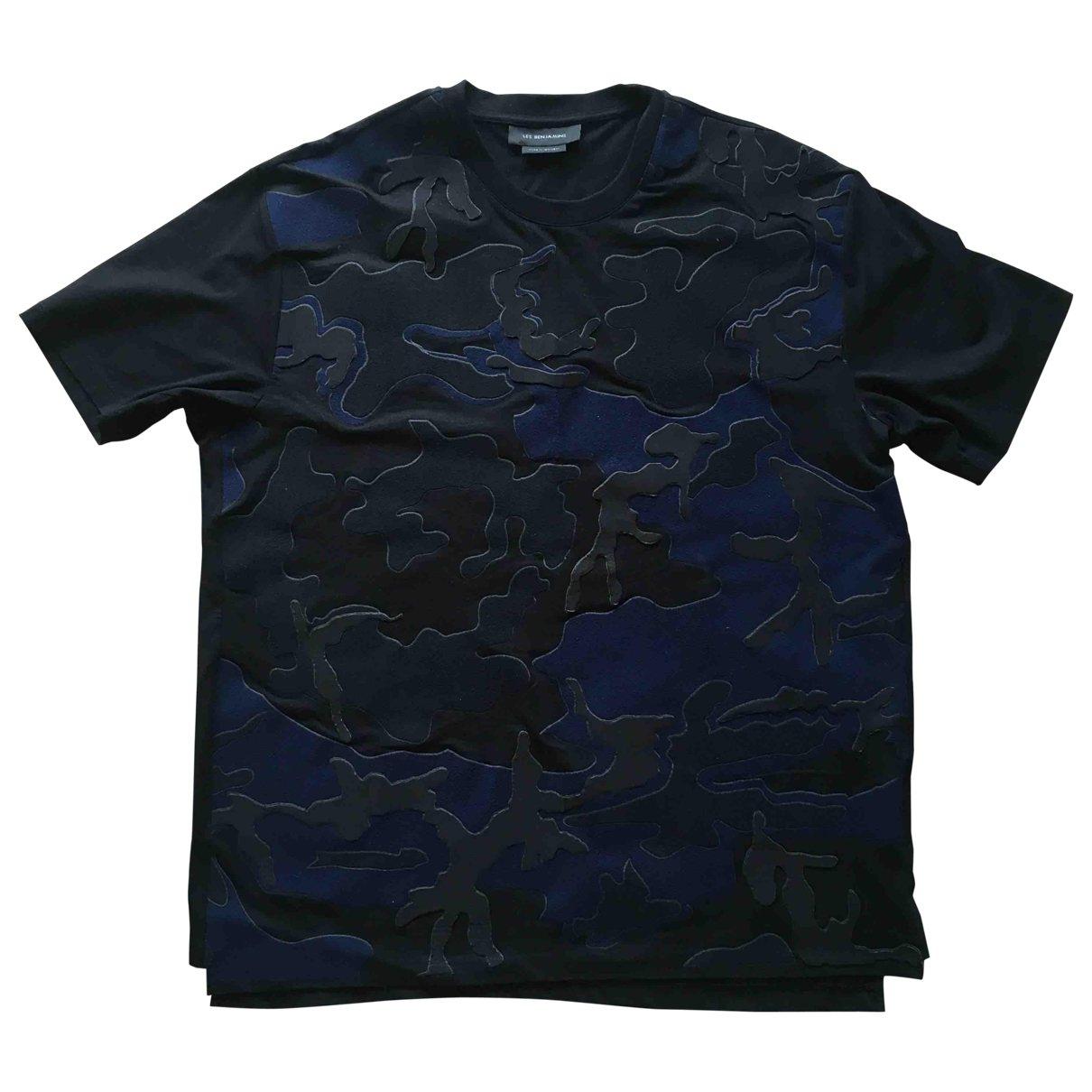 Les Benjamins \N T-Shirts in  Schwarz Baumwolle