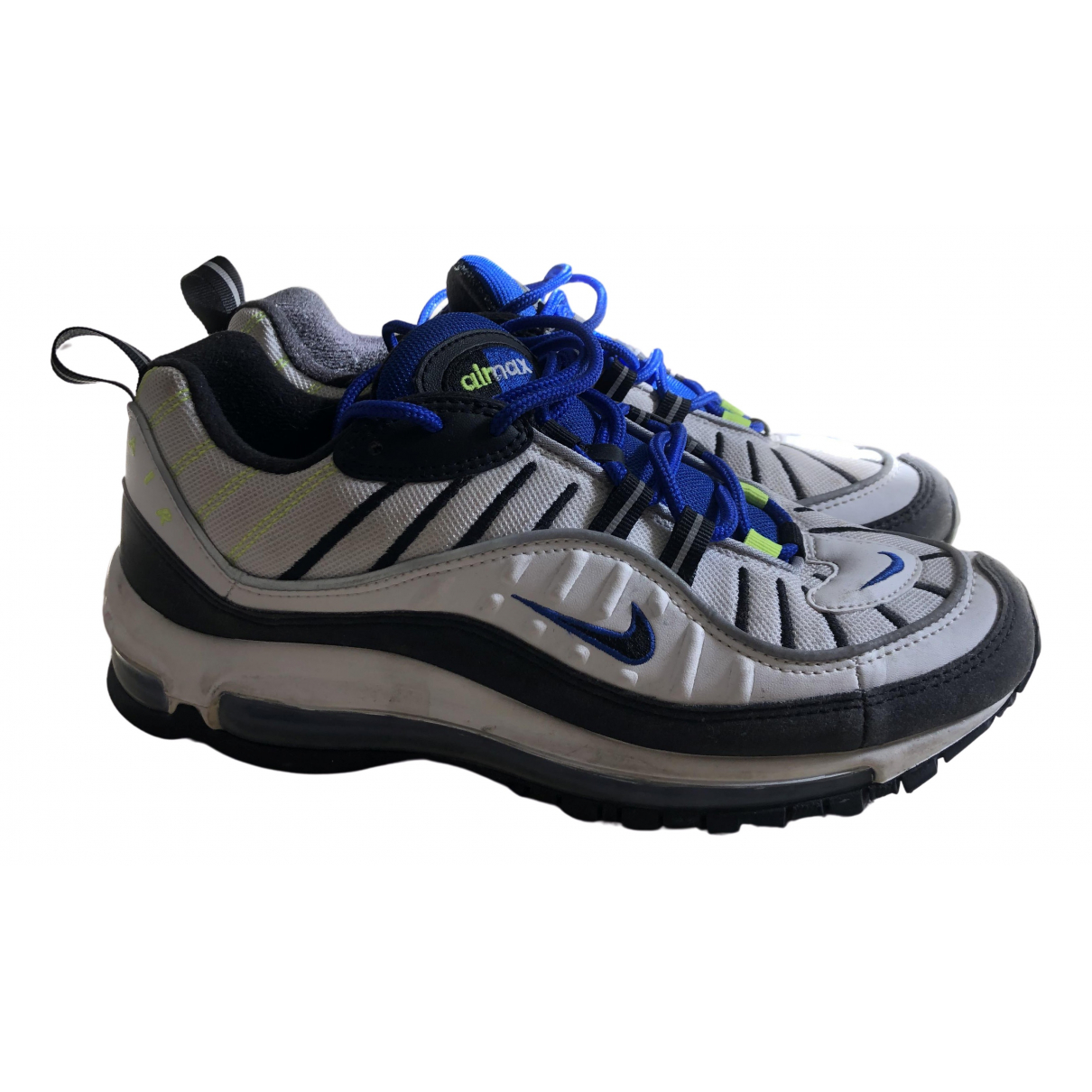 Nike Air Max 98 Sneakers in  Weiss Leinen