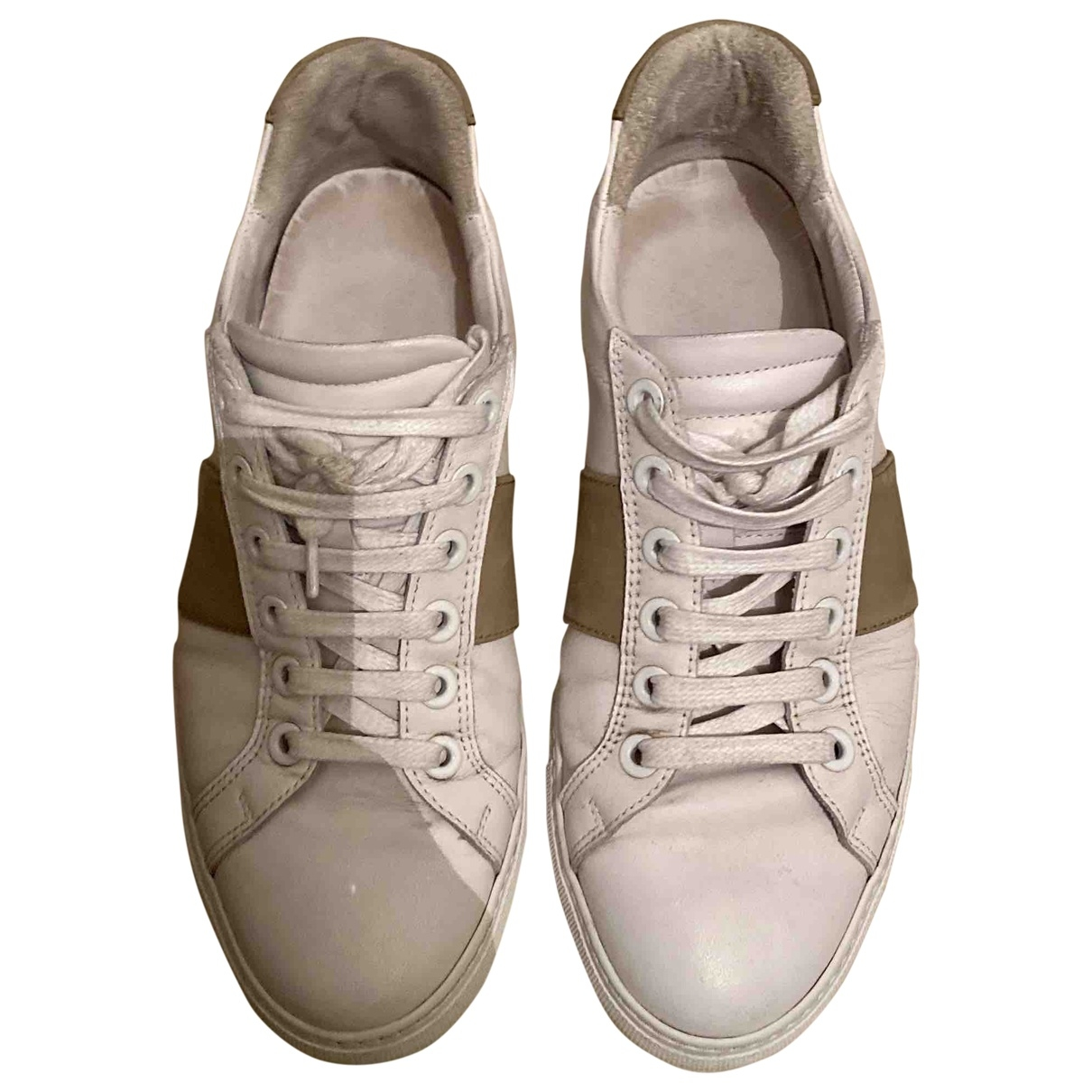 National Standard \N Sneakers in  Weiss Leder