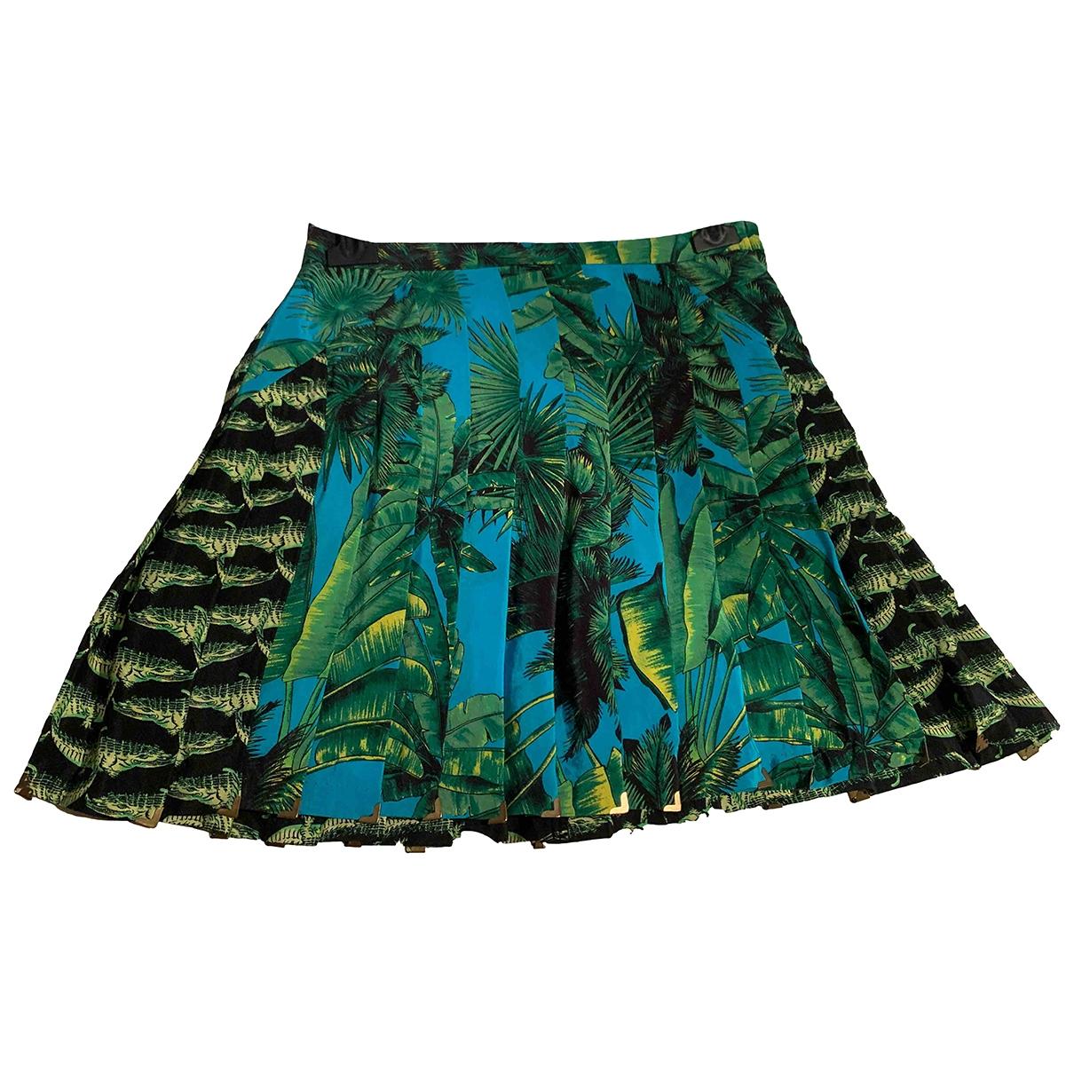 Versace X H&m - Jupe   pour femme en soie - multicolore