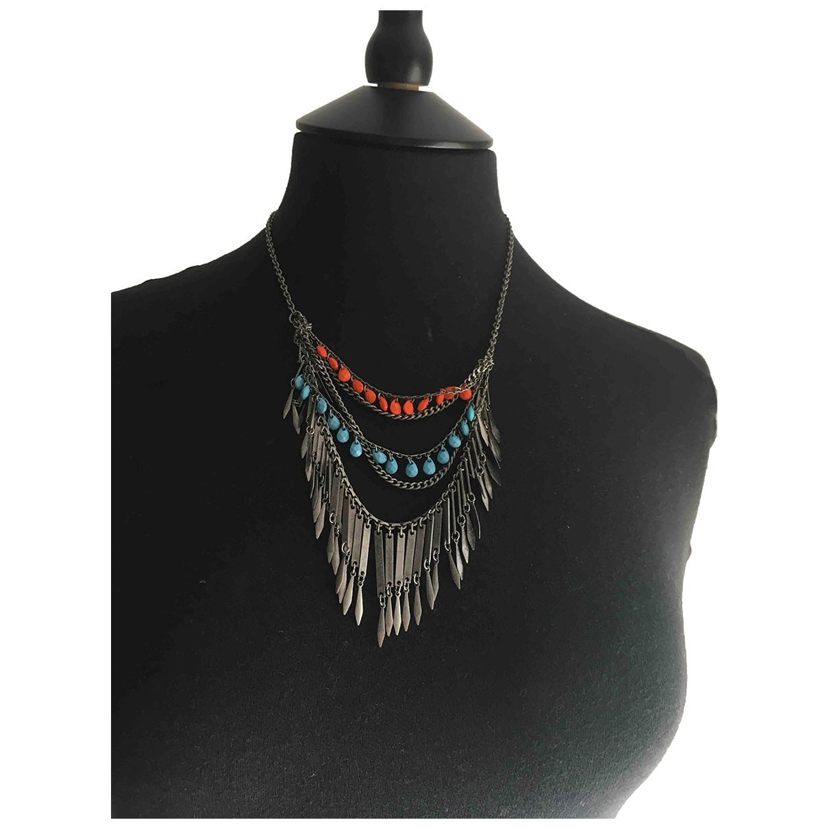 Topshop - Collier   pour femme en metal - multicolore