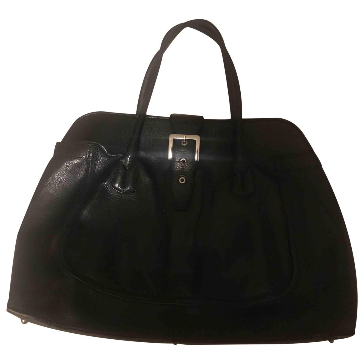 Tods \N Handtasche in  Schwarz Leder